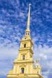 Ο Peter και ο καθεδρικός ναός του Paul στο Peter και το φρούριο του Paul ST Pete Στοκ εικόνες με δικαίωμα ελεύθερης χρήσης