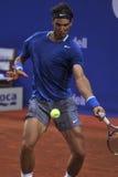 Ο Rafael Nadal Βαρκελώνη ανοίγει το ATP 500 του 2014 Στοκ Εικόνα
