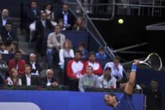 Ο Rafael Nadal Βαρκελώνη ανοίγει το ATP 500 του 2014 Στοκ Φωτογραφίες