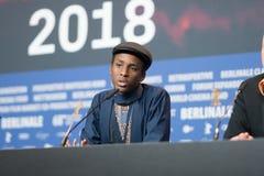Ο Samuel Ishimwe, νικητής του ασημιού αντέχει το βραβείο κριτικών επιτροπών σε Berlinale το 2018 Στοκ φωτογραφία με δικαίωμα ελεύθερης χρήσης