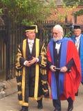Ο Sir Billy Connolly, που λαμβάνει έναν τιμητικό βαθμό από το πανεπιστήμιο Strathclyde στοκ φωτογραφία με δικαίωμα ελεύθερης χρήσης
