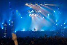 Ο STEVE AOKI παρουσιάζει 808 στο ΦΕΣΤΙΒΆΛ το 2013 Στοκ Φωτογραφίες