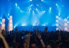 Ο STEVE AOKI παρουσιάζει 808 στο ΦΕΣΤΙΒΆΛ το 2013 Στοκ Εικόνες