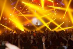 Ο STEVE AOKI παρουσιάζει 808 στο ΦΕΣΤΙΒΆΛ το 2013 Στοκ Φωτογραφία