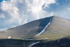 Ο trailway στη σύνοδο κορυφής του υποστηρίγματος Olympus Στοκ φωτογραφία με δικαίωμα ελεύθερης χρήσης