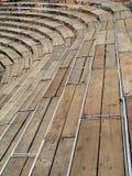 πάγκοι ξύλινοι Στοκ Εικόνα