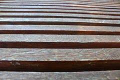 Πάγκοι σανίδων Στοκ Φωτογραφίες