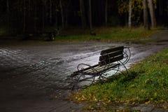 πάγκος κενός Στοκ φωτογραφίες με δικαίωμα ελεύθερης χρήσης