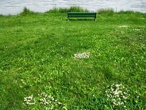 πάγκος μόνος Στοκ Φωτογραφία