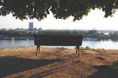 πάγκος μόνος Στοκ φωτογραφίες με δικαίωμα ελεύθερης χρήσης