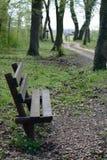 πάγκος ξύλινος Στοκ Εικόνα