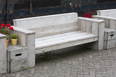 πάγκος ξύλινος Στοκ Εικόνες