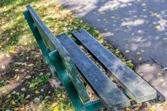 πάγκος ξύλινος Στοκ φωτογραφίες με δικαίωμα ελεύθερης χρήσης
