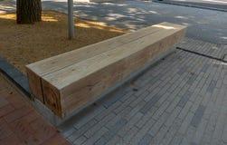 Πάγκος που γίνεται Ιαπωνία από το ξύλο πεύκων στο Himeji, στοκ φωτογραφία με δικαίωμα ελεύθερης χρήσης