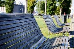 Πάγκος σε ένα πάρκο Στοκ φωτογραφίες με δικαίωμα ελεύθερης χρήσης