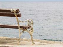 Πάγκος στη θάλασσα (2) Στοκ Εικόνες