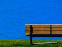 Πάγκος στη θάλασσα Στοκ φωτογραφία με δικαίωμα ελεύθερης χρήσης