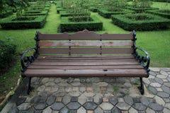 Πάγκος στους κήπους Στοκ φωτογραφία με δικαίωμα ελεύθερης χρήσης