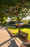 Πάγκος στο πάρκο Στοκ φωτογραφία με δικαίωμα ελεύθερης χρήσης