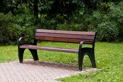 Πάγκος στο πάρκο Στοκ Εικόνες