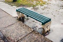 Πάγκος στο πάρκο Στοκ Φωτογραφία