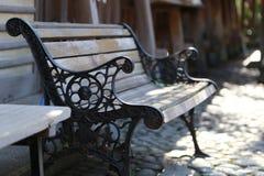 Πάγκος του πάρκου Στοκ φωτογραφία με δικαίωμα ελεύθερης χρήσης