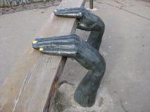 Πάγκος «χέρια» Στοκ Εικόνα