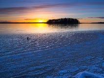 πάγος έξω Στοκ εικόνα με δικαίωμα ελεύθερης χρήσης