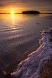 πάγος έξω Στοκ Εικόνα