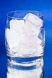 πάγος γυαλιού κύβων Στοκ φωτογραφίες με δικαίωμα ελεύθερης χρήσης