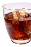 πάγος γυαλιού ποτών κόλα&sigm στοκ εικόνες με δικαίωμα ελεύθερης χρήσης