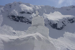 πάγος εκκλησιών Στοκ Φωτογραφίες