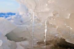 πάγος επιπλέοντος πάγου Στοκ Εικόνες
