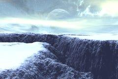 πάγος ηλικίας Στοκ Φωτογραφίες