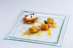 πάγος θίχουλων κρέμας μήλ&om Στοκ Εικόνα