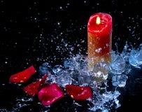 Πάγος και φλόγα Στοκ Εικόνα