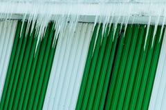 Πάγος και λωρίδες Στοκ φωτογραφία με δικαίωμα ελεύθερης χρήσης