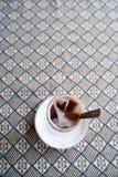 πάγος καφέ Στοκ εικόνες με δικαίωμα ελεύθερης χρήσης