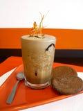 πάγος καφέ 2 milkshake Στοκ Εικόνες