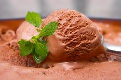 πάγος κρέμας σοκολάτας Στοκ φωτογραφία με δικαίωμα ελεύθερης χρήσης