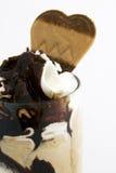 πάγος κρέμας σοκολάτας Στοκ φωτογραφίες με δικαίωμα ελεύθερης χρήσης