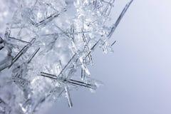 πάγος κρυστάλλων κινηματ Στοκ Φωτογραφία