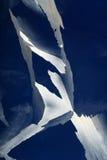 πάγος κρυστάλλων οδοντ&ome Στοκ Φωτογραφίες