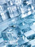 πάγος κύβων Στοκ εικόνες με δικαίωμα ελεύθερης χρήσης