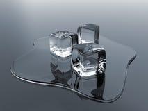πάγος κύβων διανυσματική απεικόνιση