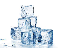 πάγος κύβων Στοκ Φωτογραφία