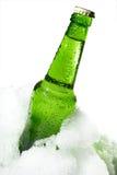 πάγος μπουκαλιών Στοκ Φωτογραφίες
