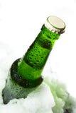 πάγος μπουκαλιών Στοκ Εικόνες