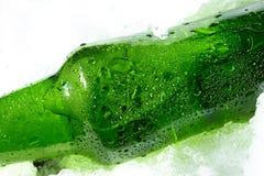 πάγος μπουκαλιών Στοκ φωτογραφία με δικαίωμα ελεύθερης χρήσης