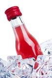 πάγος μπουκαλιών Στοκ εικόνες με δικαίωμα ελεύθερης χρήσης